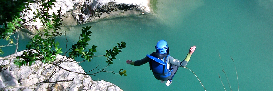 Canyoning in the Gorges du Verdon